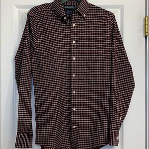 Stafford life in motion tech stretch shirt Small